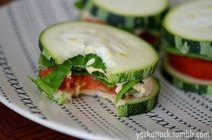 low oxalate zucchini sandwiches